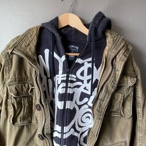 Stussy Zip Hoodie Jacket